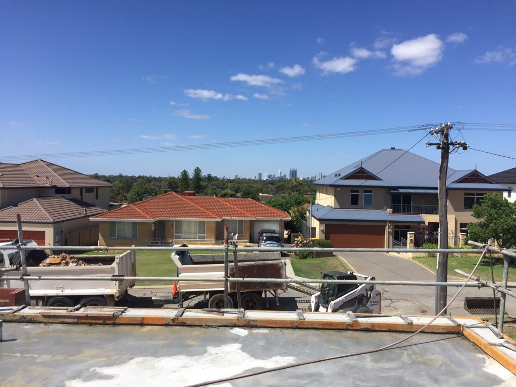 New two storey home in Dianella